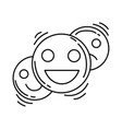 e-commerce feedback icon hand drawn icon set vector image vector image