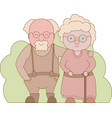 grandparents day happy grandparents vector image vector image