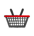 shopping basket icon image vector image vector image