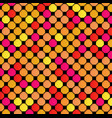 abstract geometric background multicolor pattern vector image vector image