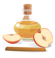 apple cider vector image vector image