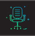 Chair icon design