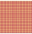 Checkered fabric tartan textile seamless vector image vector image