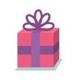 gift birhtday present icon vector image vector image