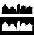 pisa skyline vector image