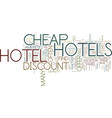 are there any good cheap hotels text background