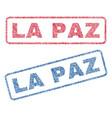 la paz textile stamps