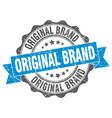 original brand stamp sign seal vector image vector image