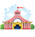 Striped strolling circus vector | Price: 3 Credits (USD $3)