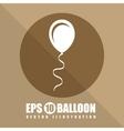 balloon air vector image