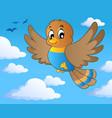 bird theme image 1 vector image