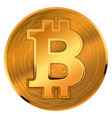 bitcoin 4q1 vector image vector image