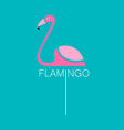 Flamingo bird sign