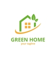 Green Home Logo Template vector image vector image