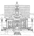 Hand drawn stock of house vector image