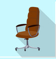 isolated object of furniture and work sign set of vector image vector image