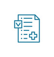 medication insurance document icon pharmacy vector image vector image