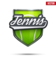 Premium symbol of Tennis label vector image vector image
