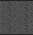 dark brick wall seamless pattern vector image
