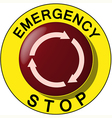 emergency vector image vector image