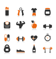 Fitness an icon vector | Price: 1 Credit (USD $1)