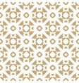 gold and white seamless pattern in asian style vector image vector image