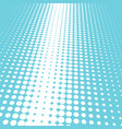 halftone blue and white background vector image