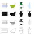 isolated object of retail and healthcare icon vector image vector image