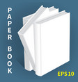 mock-ups of paper books-13 vector image