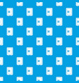 safety deposit box pattern seamless blue vector image vector image