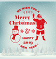 We wish you a very merry christmas and happy new