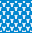 cow farm animal character vector image