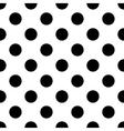 polka dot black vector image