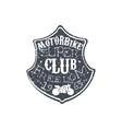Freedom Club Vintage Emblem vector image vector image