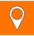 navigation icon Eps10 vector image vector image