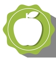 Appe fruit icon vector image