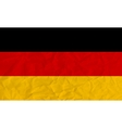 Germany paper flag vector image