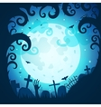 Halloween art vector image