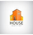 house logo real estate vector image