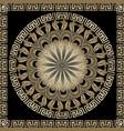 ornamental round greek mandala pattern modern vector image vector image