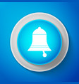 ringing bell icon alarm symbol service bell vector image vector image