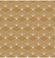 seamless geometric pattern based on japanese vector image