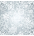 shiny silver light snowflakes seamless pattern vector image vector image