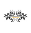 template branch 1 vector image vector image