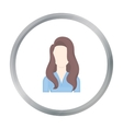 Woman icon cartoon Single avatarpeaople icon vector image vector image