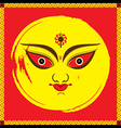 happy navrati festival banner design vector image