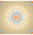 Beige background with contrast abstraction vector image vector image