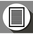 Document or sheet icon vector image vector image