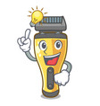 have an idea electric shaver the shape funny vector image vector image
