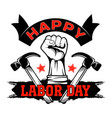 labor day 0002 vector image
